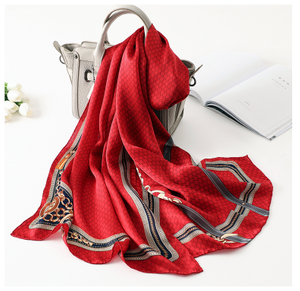 Extra Large Beartiful Cream Silk Scarf in Australian
