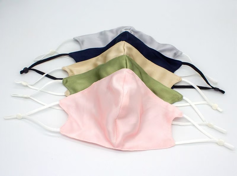 Custom 100% Luxury Silk Mulbery Face Mask