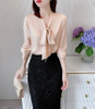 Silk Crepe De Chine Ladies Designer Blouse