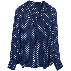Topshop Full Sleeves Silk Pajama Shirt for ladies