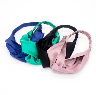 Custom 100% Silk Hair Elastics Scrunchies Silk Hairband for Women