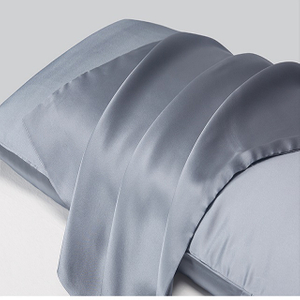 Blissy Costco Silk Pillowcase Amazon in Grey Color