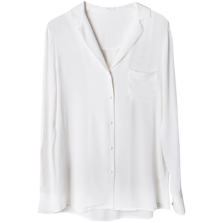 Womens Best Silk Shirts And Blouses with Long Sleeve